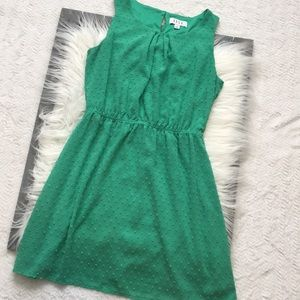 Beautiful green ELLE sundress